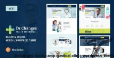 Dr.Changes - Doctor & Medical Clinic WordPress Theme By themelexus