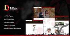 Dream Ceremony - Wedding HTML Template