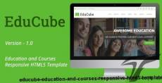 EduCube - Education and Courses Responsive HTML5 Template
