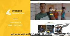 EduMax : Education & Courses HTML Template