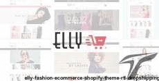 Elly - Fashion eCommerce Shopify Theme + RTL + Dropshipping By hastech