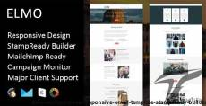 Elmo - Multipurpose Responsive Email Template + Stampready Builder