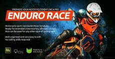 Enduro - Extreme Motorcycle Race Event Website Muse Template By vinyljunkie