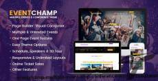Eventchamp – Multiple Event & Conference WordPress Theme
