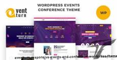 Eventturn - Responsive Events and Conference WordPress Theme By ninetheme