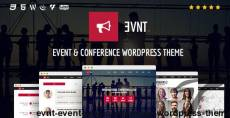 Evnt - Event & Conference WordPress Theme