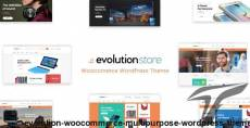 Evolution - WooCommerce Multipurpose WordPress Theme
