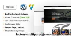 Factory | Multipurpose WordPress Theme