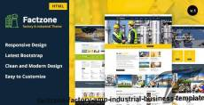 FactZone - Factory & Industrial Business Template