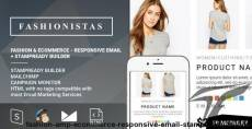 Fashion & Ecommerce - Responsive Email + StampReady Builder