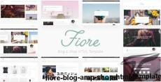 Fiore - Blog & Shop HTML Template