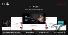 Fitness - GYM Instapage Template