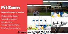 Fitzoon - eCommerce Sports Template