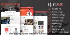 Flame - Multipurpose Corporate, Business, Agency HTML5 Template