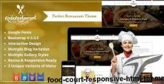 Food Court - Responsive HTML Theme