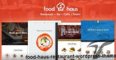 Food Haus - Restaurant WordPress Theme