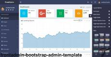 FrontAdmin - Bootstrap Admin Template