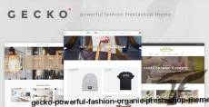 Gecko - Powerful Fashion, Organic Prestashop Theme