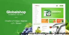 Global Market Magento 2 Template