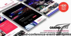 Grand Conference | Event WordPress