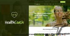 Health Coach - HTML Template for Personal Life Coaching Website