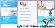 High Tide - Creative Email Newsletter