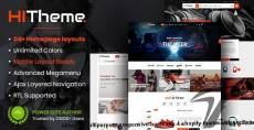 HiTheme - Multipurpose Responsive Bootstrap 4 Shopify Theme with Sections By magentech