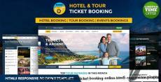 Holiday Hotel and Tour Ticket Booking Online HTML5 Responsive Template