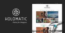 Holomatic - WordPress Theme For Bloggers