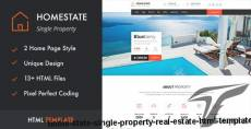 HOME STATE - Single Property Real Estate HTML Template