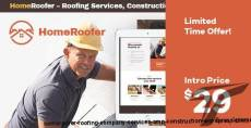 HomeRoofer | Roofing Company Services & Construction WordPress Theme By ancorathemes