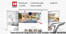Homeworld - Responsive Real Estate HTML5 Template