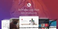 Hue - A Mighty, Massive & Modern All-Encompassing Multipurpose Theme