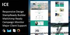 ICE - Multipurpose Responsive Email Template + Stampready Builder
