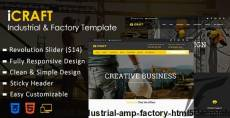 iCRAFT - Industrial & Factory HTML5 Template