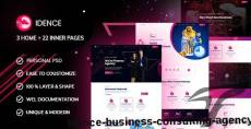 Idence | Business Consulting Agency By abdulahad11