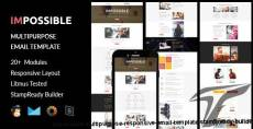 IMPOSSIBLE - Multipurpose Responsive Email Template + Stampready Builder