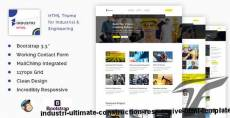 Industri - Ultimate Construction Responsive  HTML Template