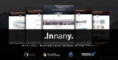 Innany - Minimal WordPress AJAX Blog Theme