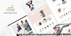 iOne - Minimal Responsive Shopify Theme