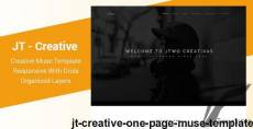JT - Creative One Page Muse Template By muse-master