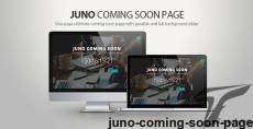 Juno Coming soon page