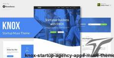 KNOX - Startup, Agency, Apps Muse Theme By rometheme