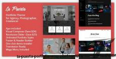 La Puerta - Portfolio & Photography WordPress Theme