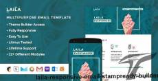 Laila - Responsive Email + StampReady Builder