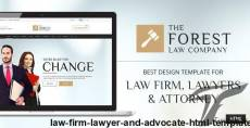 Law Firm, Lawyer and Advocate HTML Template