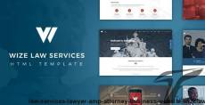 Law Services | Lawyer & Attorney Business Website - WizeLaw