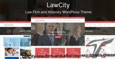 LawCity - Law Firm and Attorney WordPress Theme