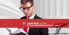 LawyerDesk - Multipage Lawyer and Attorney Responsive Theme