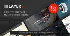 Layer -  Simple One Page WordPress Themes